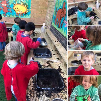 Mud Kitchen Opening Day At Bertrum House Nursery